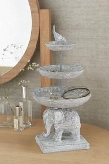 Silver Elephant Jewellery Tree