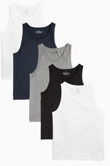 Mixed Vests Five Pack