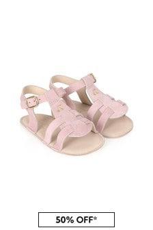 Bonpoint Baby Girls Pink Sandals