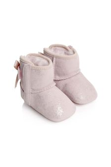 UGG Baby Girls Shimmer Jesse Bow Boots