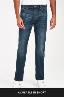 Dark Blue Jeans With Stretch