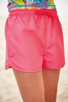 Fluro Pink Shorts