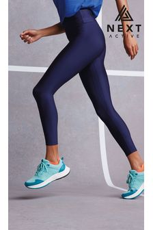 Recycled Navy High Waist Sculpting Sports Leggings