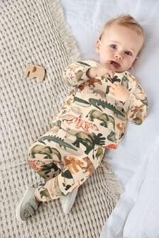 Multi GOTS Organic Animal T-Shirt and Legging Set (0mths-3yrs)