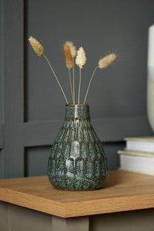 Green Reactive Green Vase