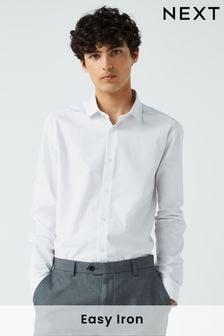 White Easy Care Shirt