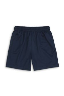 Navy Football Shorts (3-16yrs)