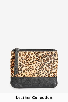 Animal Leather Coin Purse