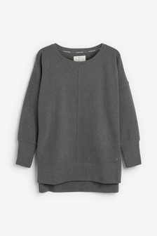 Grey Supersoft Fleece Tunic