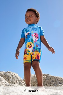 Multi Baby Shark Sunsafe Swimsuit (3mths-7yrs)
