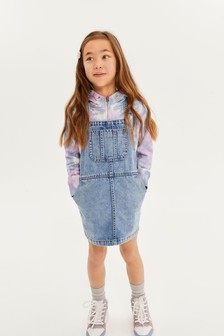 Pale Blue Denim Pinafore (3-16yrs)