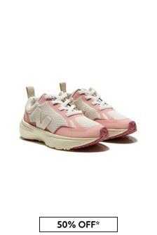 Veja Girls Pink Trainers