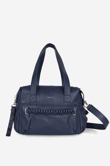 Mayoral Girls Blue Braided Changing Bag