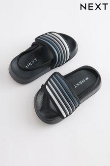 Black Touch Fastening Stripe Sliders