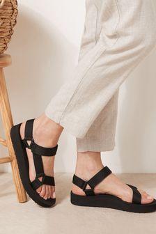 Black EVA Sporty Sandals