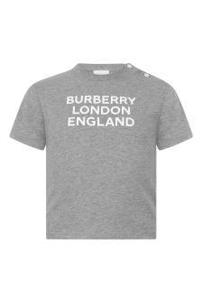 Burberry Kids Baby Boys Cotton Logo T-Shirt
