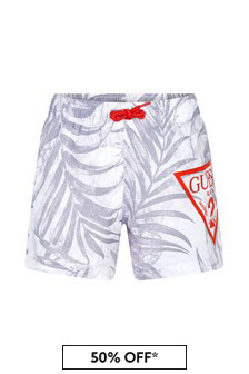 Guess Boys Grey Swim Shorts