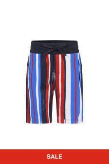 Dolce & Gabbana Kids Dolce & Gabbana Boys Navy Cotton Shorts