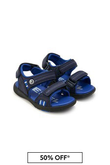 Diesel Boys Navy Sandals