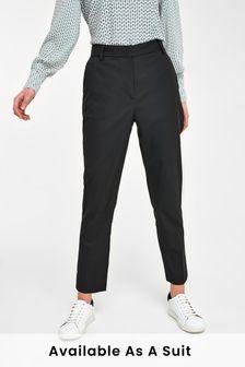 Black Tailored Slim Trousers