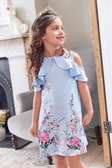 Brand new. Mini Boden Girls Skirt in multi Frame Flowers UK Size 11-12 years