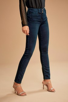 Inky Wash Lift, Slim And Shape Slim Jeans