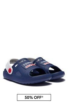 Tommy Hilfiger Boys Navy Sandals