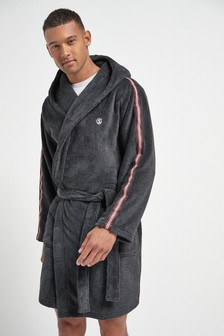 Slate Taped Dressing Gown
