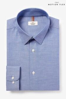 Dark Blue Cotton Stretch Motion Flex Shirt