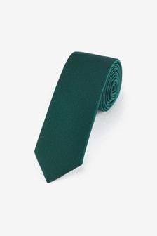 Green Twill Tie