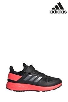 Girls Adidas Sneakers   Girls Pink & White Adidas Sneakers