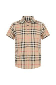 Burberry Kids Boys Vintage Check Fredrick Shirt