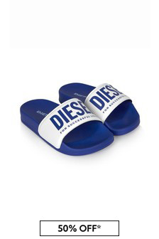 Diesel Boys Blue Sandals