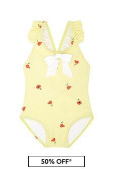 Chloe Kids Girls Yellow Swimsuit