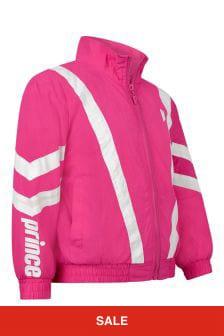 Prince Kids Pink Baseline Track Jacket