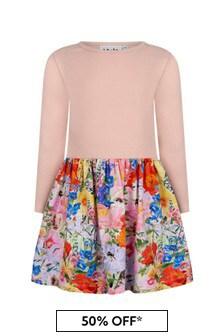 فستان بيبي بناتي قطن متعدد الألوان منMolo