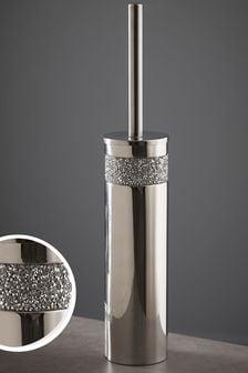 Silver Harper Gem Toilet Brush
