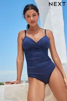 Navy Shape Enhancing Swimsuit