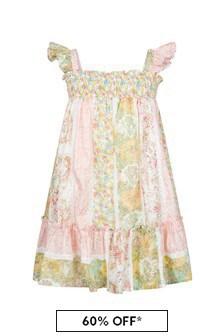 Bonpoint Girls Pink Cotton Dress