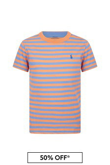 Ralph Lauren 키즈 코튼 티셔츠