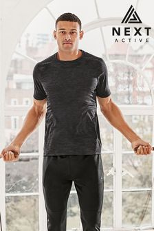 Charcoal Next Active Sports T-Shirt