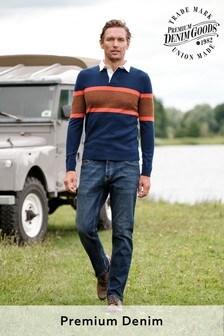 Vintage Wash Premium Textured Jeans