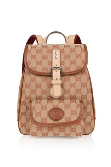 GUCCI Kids Canvas GG Backpack