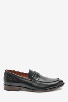 Black Saddle Loafers