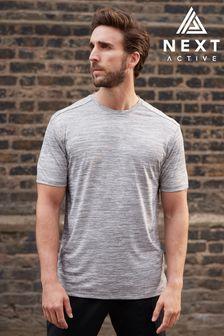 Grey Next Active Sports T-Shirt