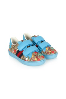 GUCCI Kids Blue Trainers