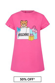 Moschino Kids Baby Cotton Dress