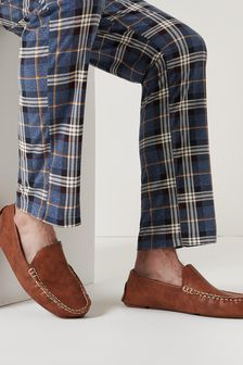 Tan Moccasin Slippers