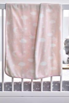 Pink Supersoft Fleece Blanket
