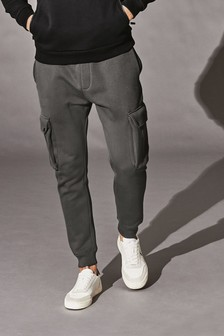 Charcoal Cargo Joggers